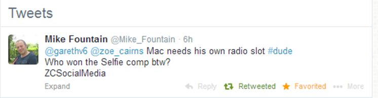 Mac Dude Tweet