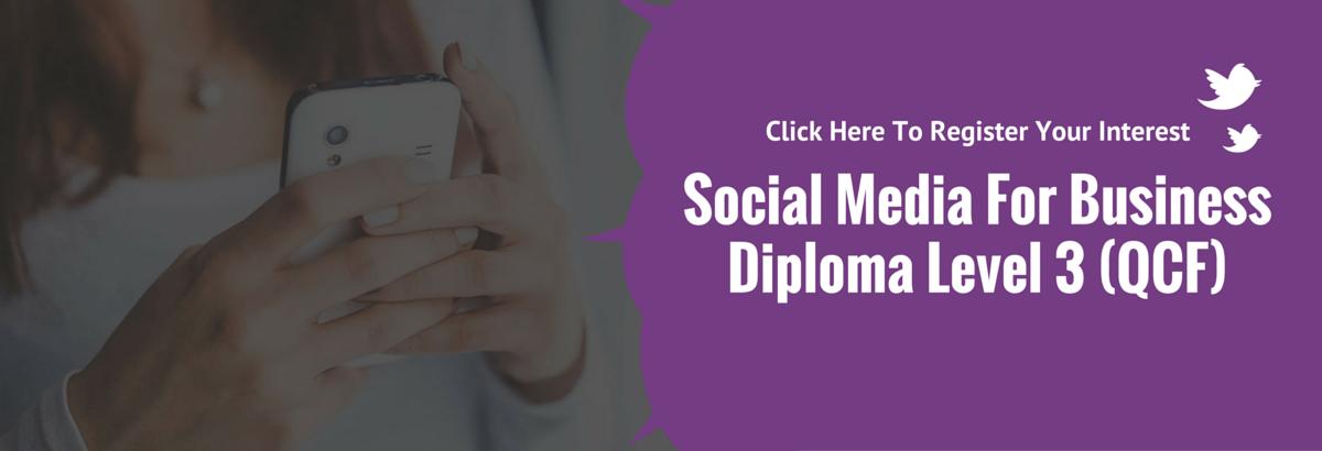 social media diploma kent