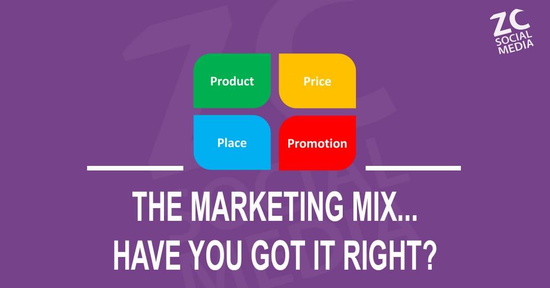 Blog Post - Marketing Mix
