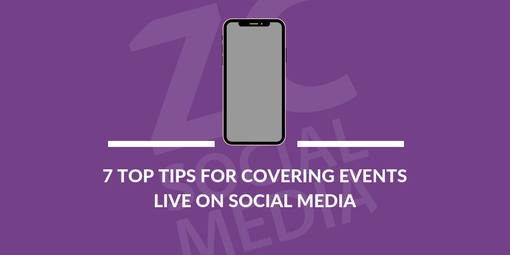 7 top tips for live coverage