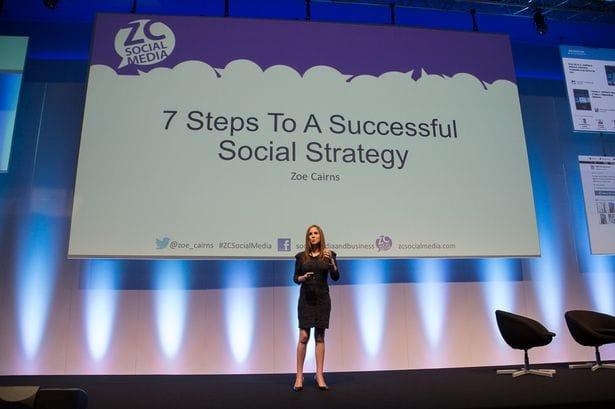 zoe cairns the big social media conference